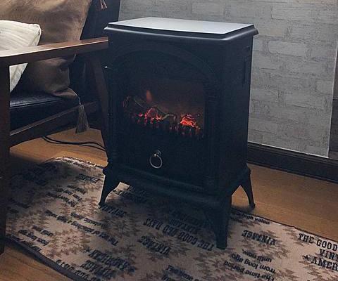 ニトリ 暖炉型ファンヒーター